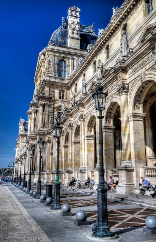 Paris Louvre HDR