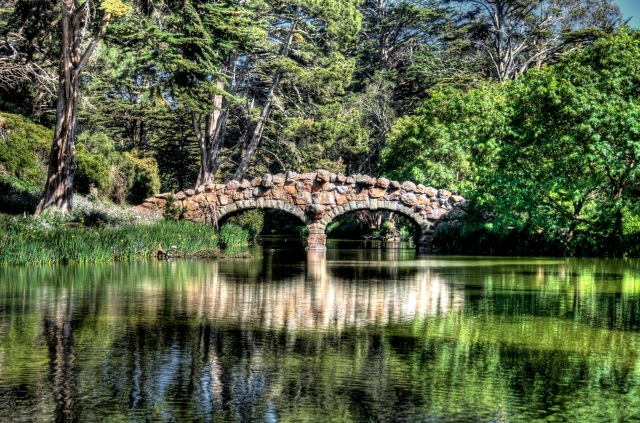 Stow Lake - HDR