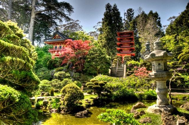 SF - Japaese Tea Garden - HDR