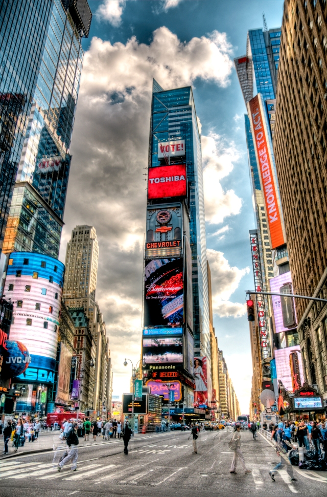 Times Square HDR