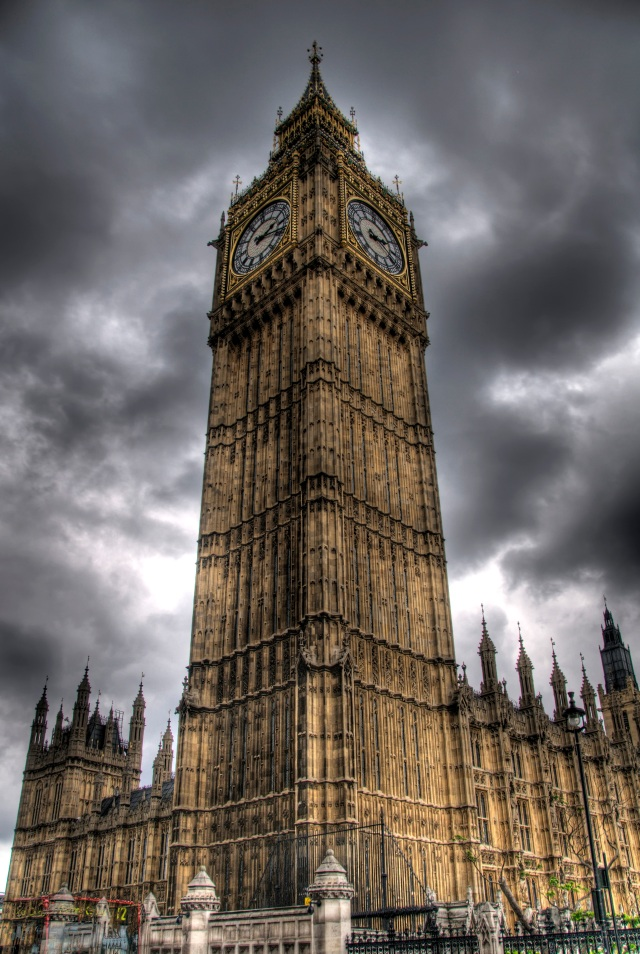 London - Big Ben HDR