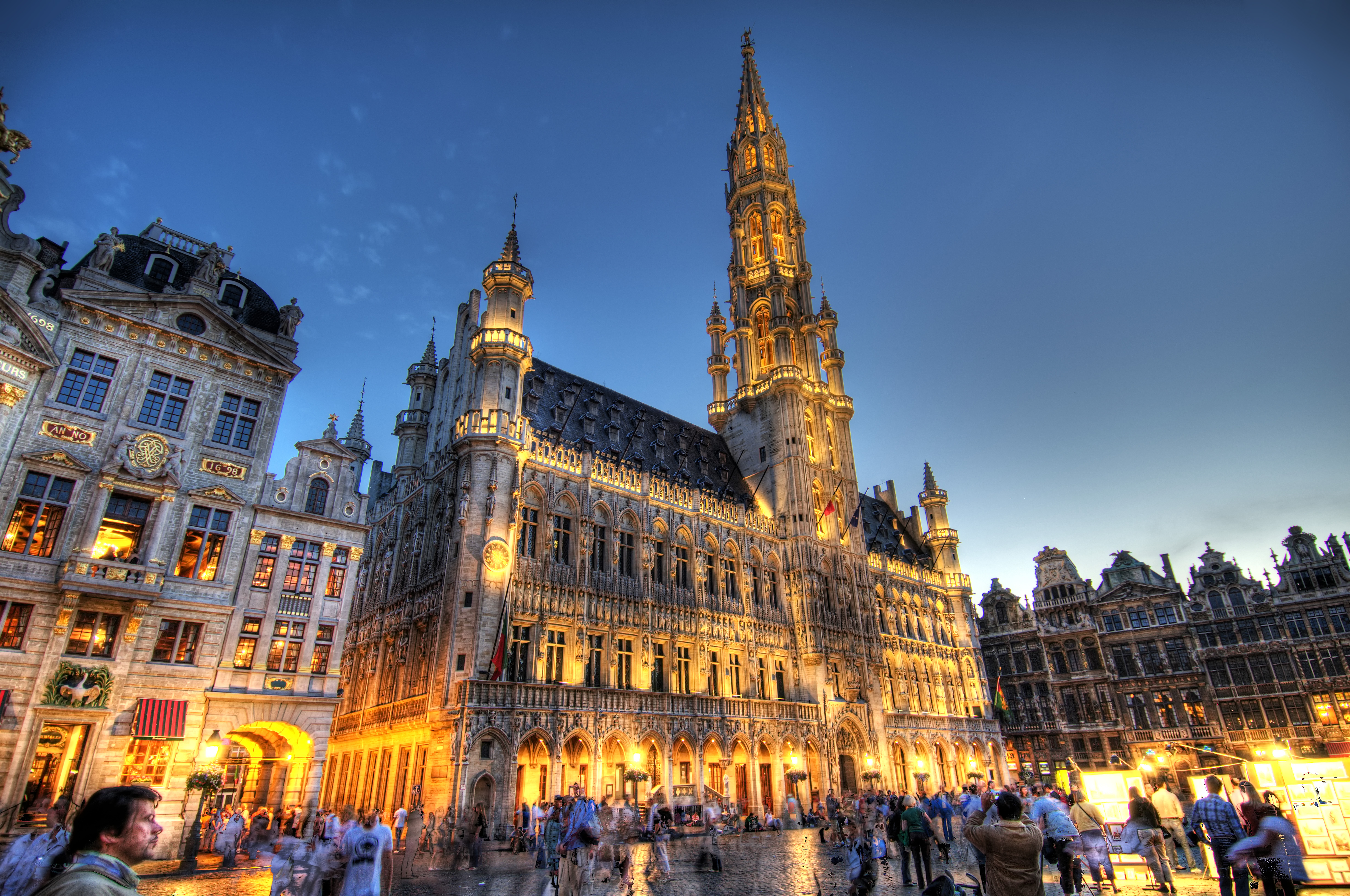 Brussels Belgium Town Hall Hdr 171 Places 2 Explore