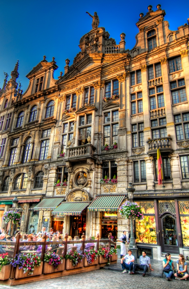 Brussels Grand Place HDR