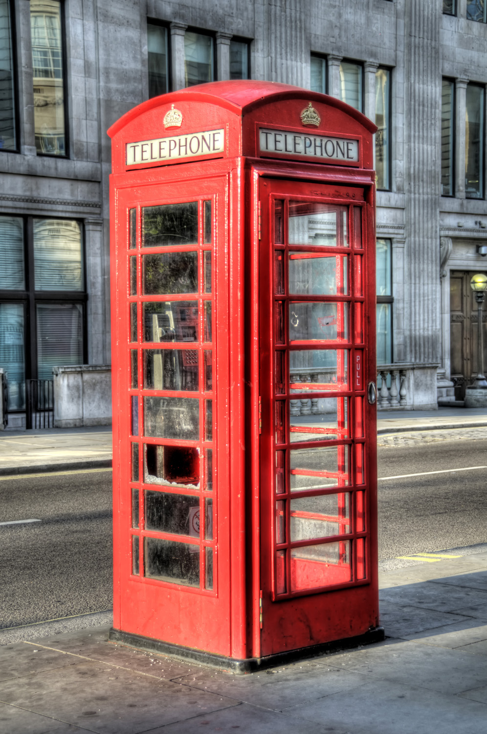 London, England - Telephone Booth - HDR « Places 2 Explore