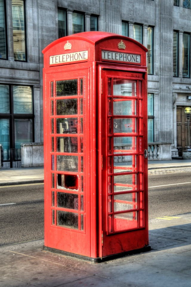 London, England - Telephone Booth HDR