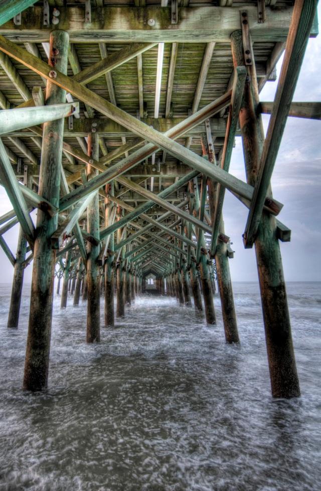 Myrtle Beach, SC - Under the Pier HDR