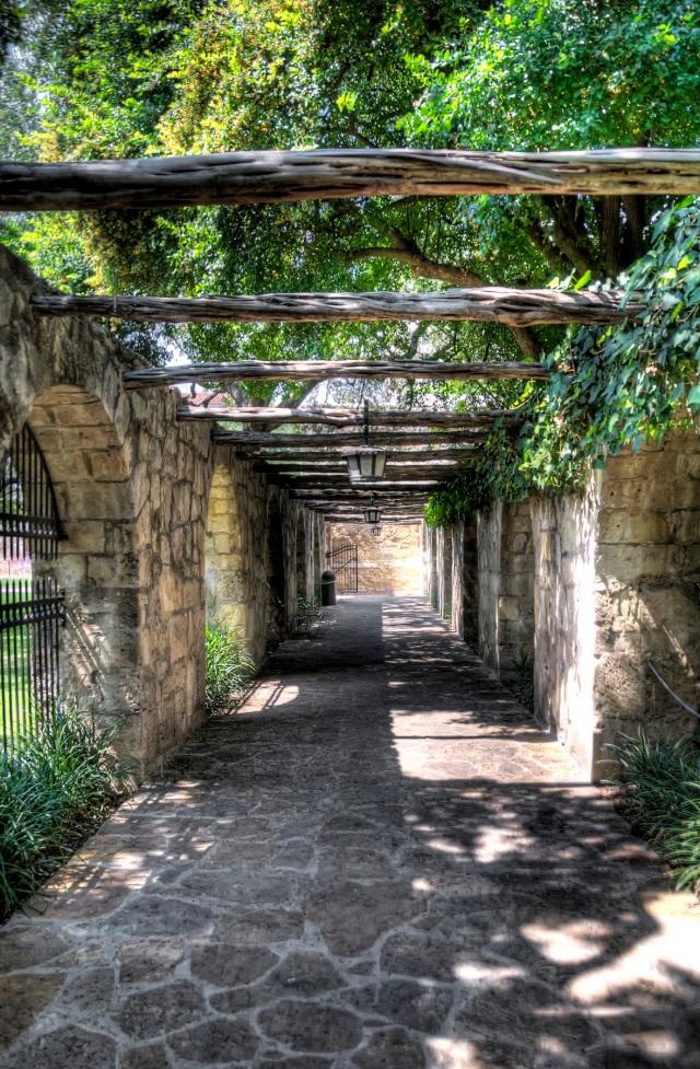 Alamo Walkway HDR