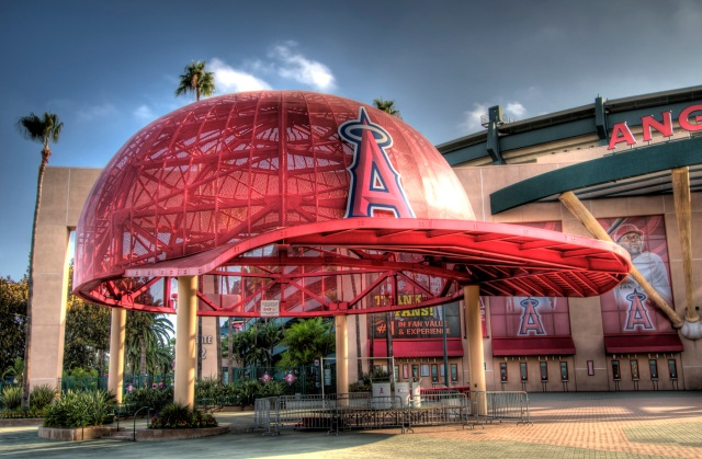 Anaheim, CA - Angels Stadium HDR