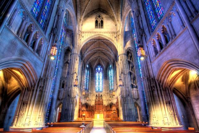Pittsburgh, PA - Heinz Chapel HDR