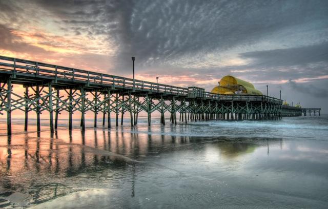 Myrtle Beach - Pier HDR