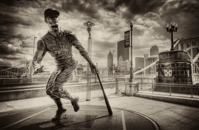 Roberto Clemente HDR