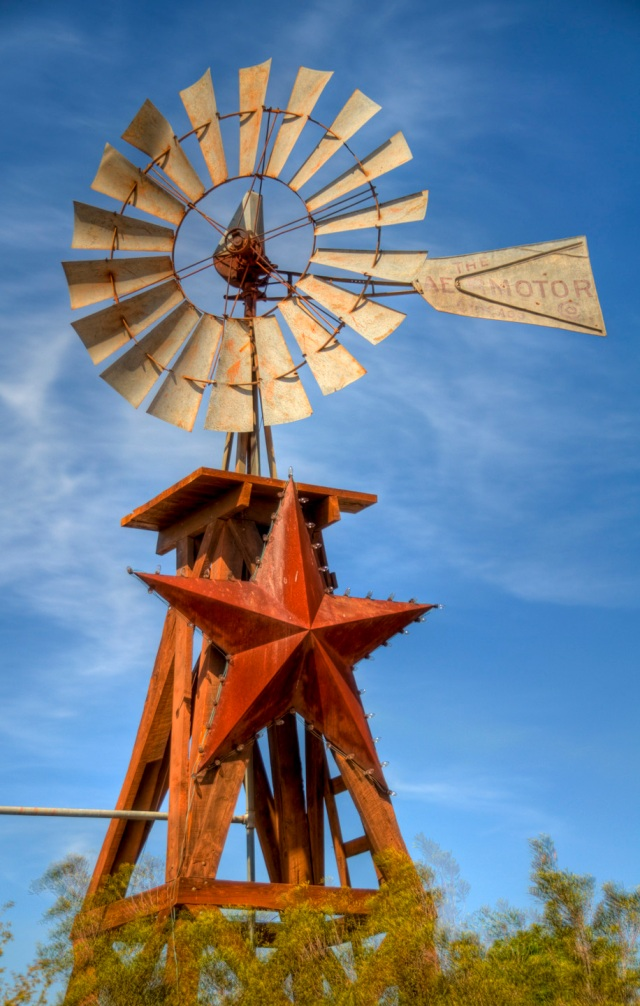 Fredricksburg, Texas - Windmill HDR