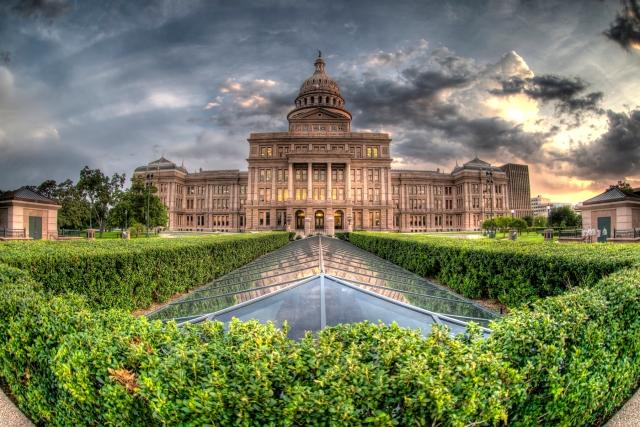 Austin Capitol HDR Back