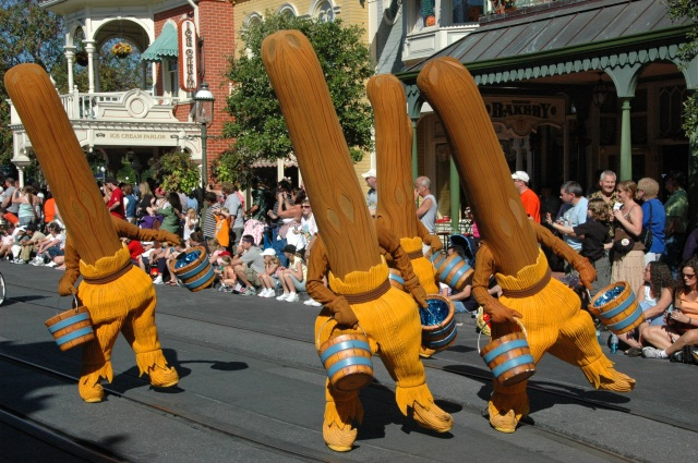 Disney World - Dancing Broomsticks