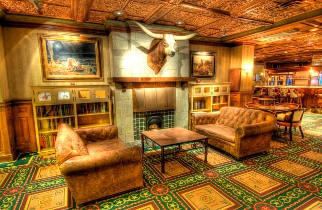 Austin, TX - Driskill Hotel Lounge HDR
