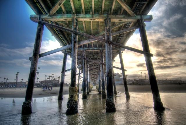 Newport Pier HDR
