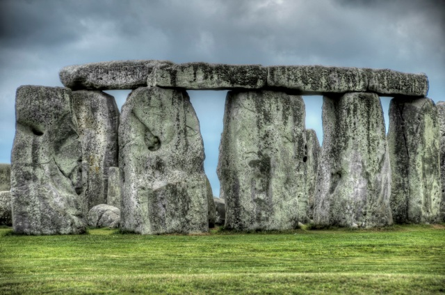Stonehenge Close Up HDR