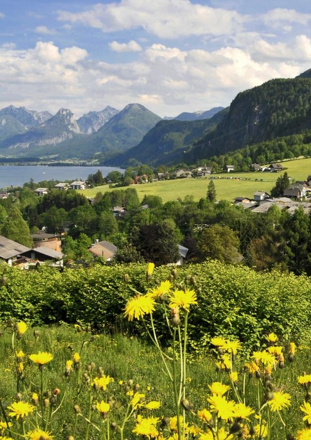 Salzburg, Austria - Wolfgang Lake