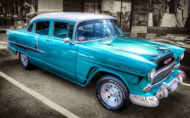 1955 Chevy HDR