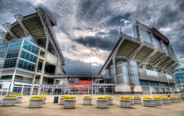 Browns Stadium HDR