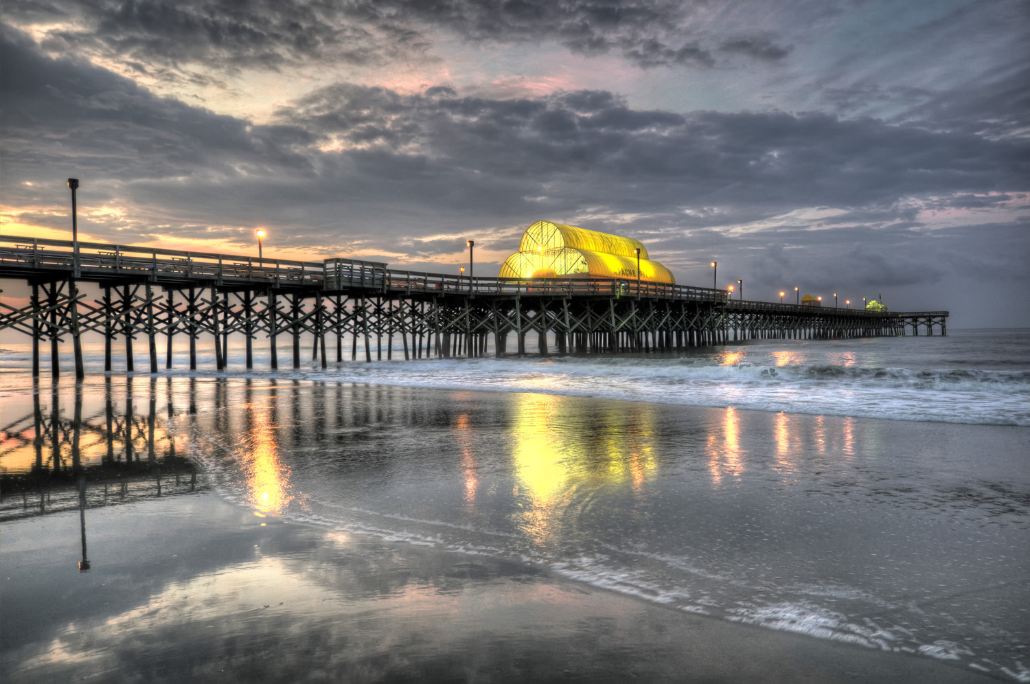 Myrtle beach sc apache pier places 2 explore for North myrtle beach fishing pier