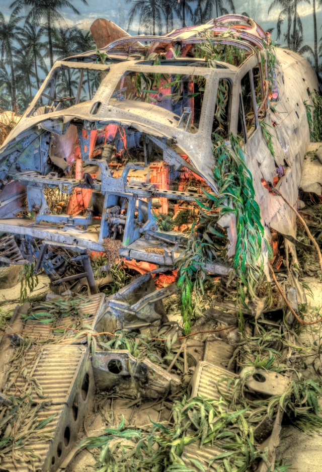Plane Crash HDR