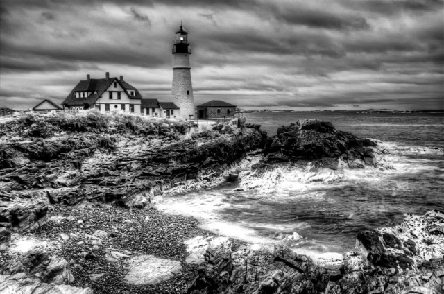 Portland Head Light IR-HDR