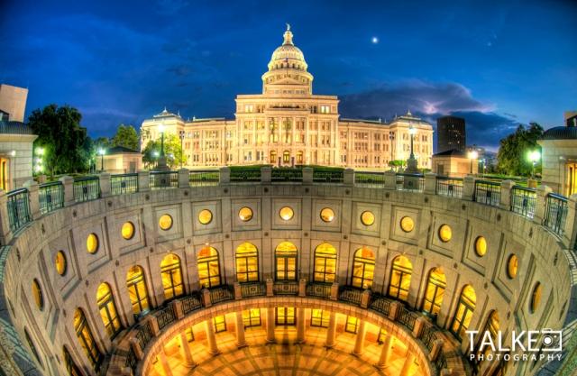 Austin Capitol Fisheye HDR
