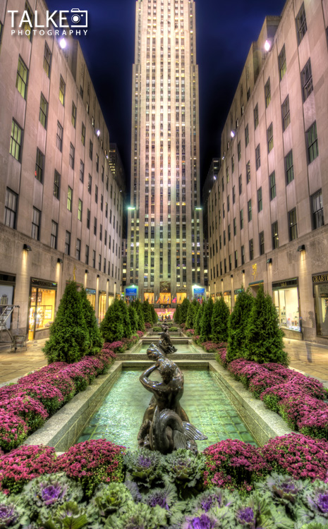 Rockefeller Center HDR