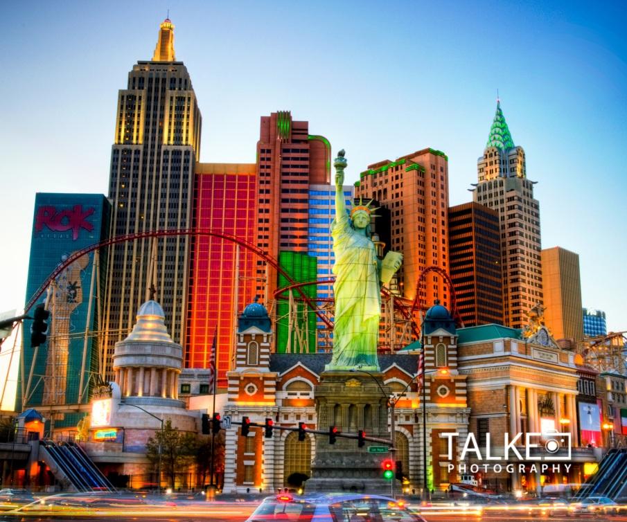 Las Vegas NYNY HDR Mousepad