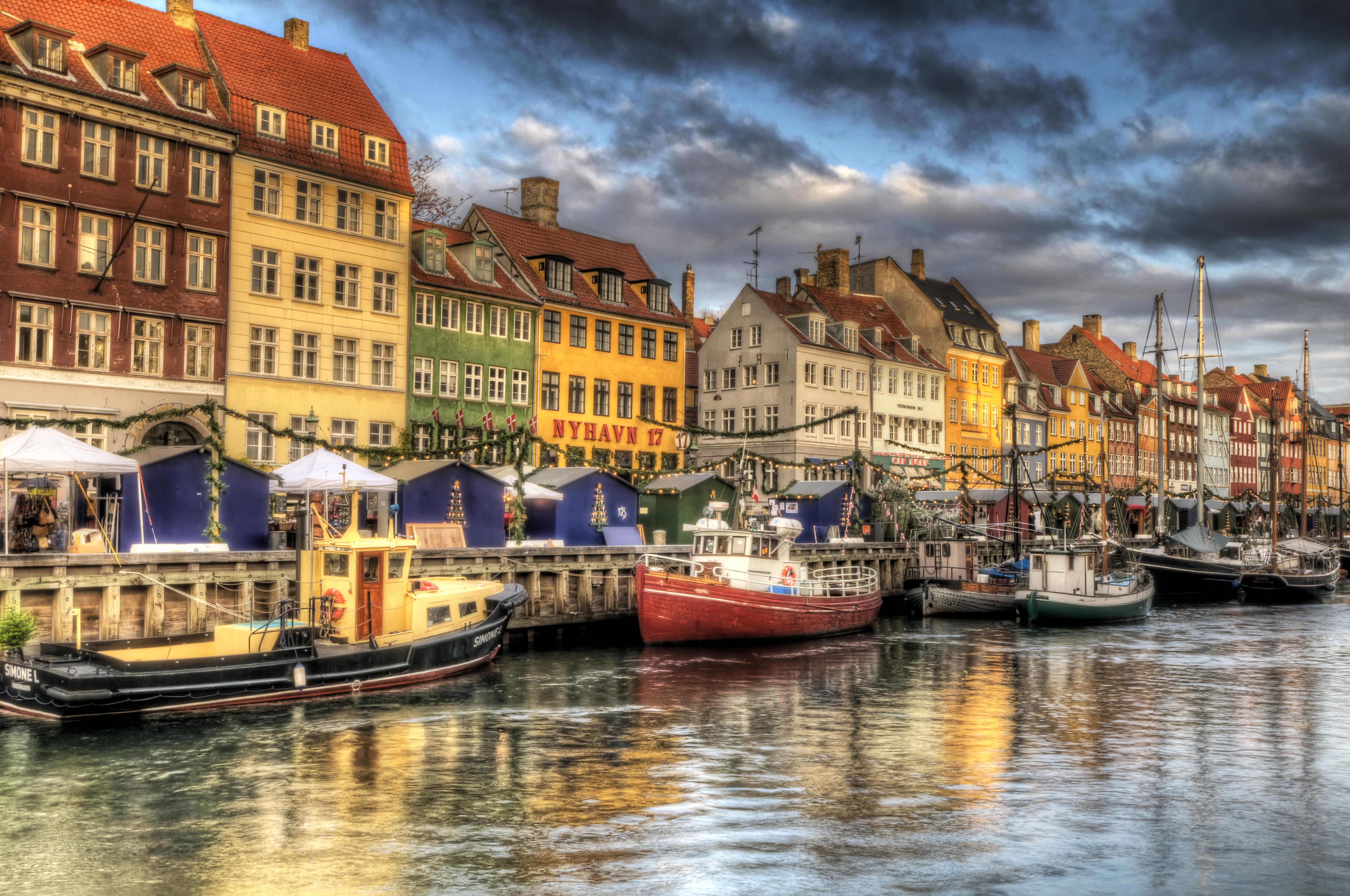 Copenhagen, Denmark – Nyhavn (HDR) « Places 2 Explore