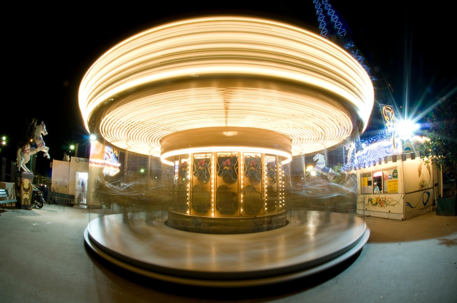Paris Carousel Fast