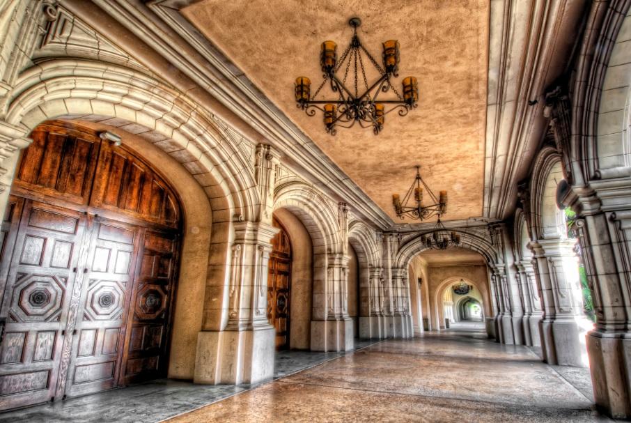 Balboa Park Hallway HDR