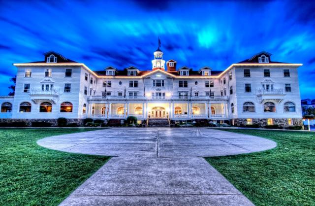 Estes Park Colorado The Haunted Stanley Hotel Hdr Part 1 171 Places 2 Explore