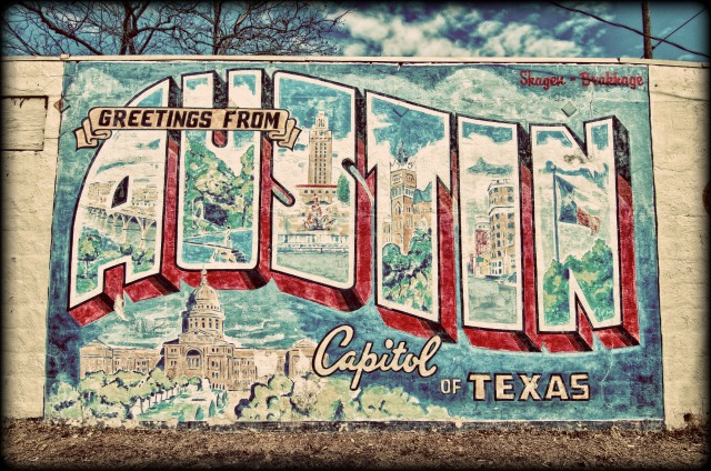 Austin texas austin mural hdr places 2 explore for Austin postcard mural