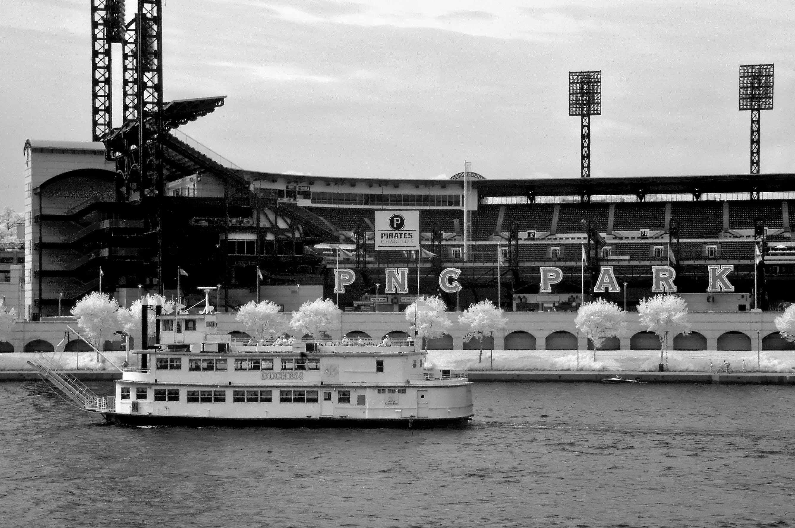 This shot is from PNC Park in Pittsburgh PA I was walking to the stadium