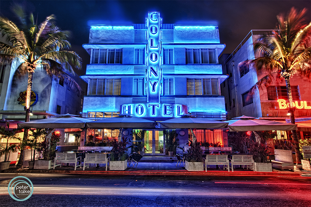 Myrtle Beach Hotels >> Miami Beach, Florida – Colony Hotel (HDR) « Places 2 Explore