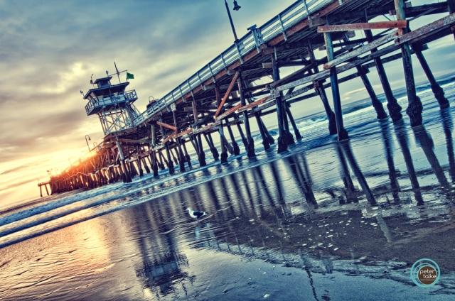 San Clemente Pier HDR
