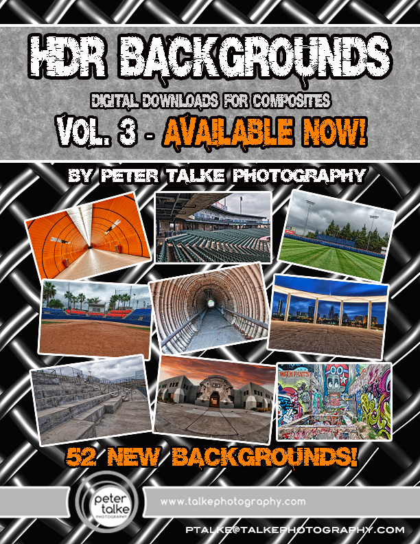 HDR Backgrounds Vol 3 Ad