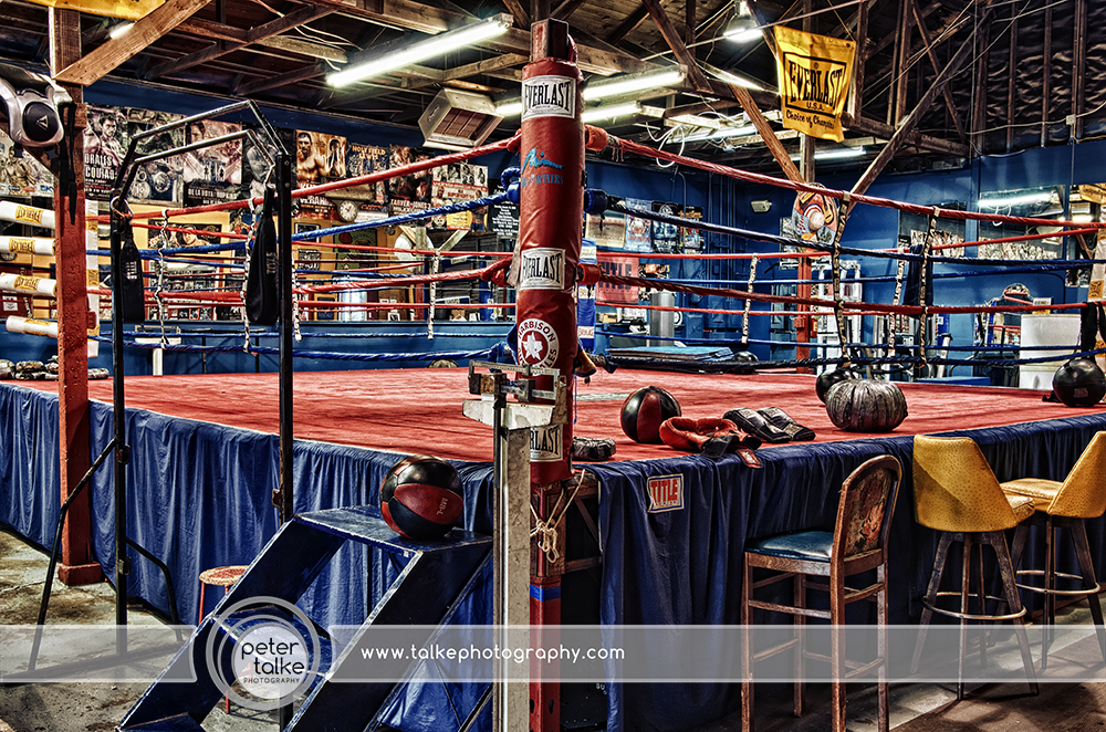 Boxing gym hdr