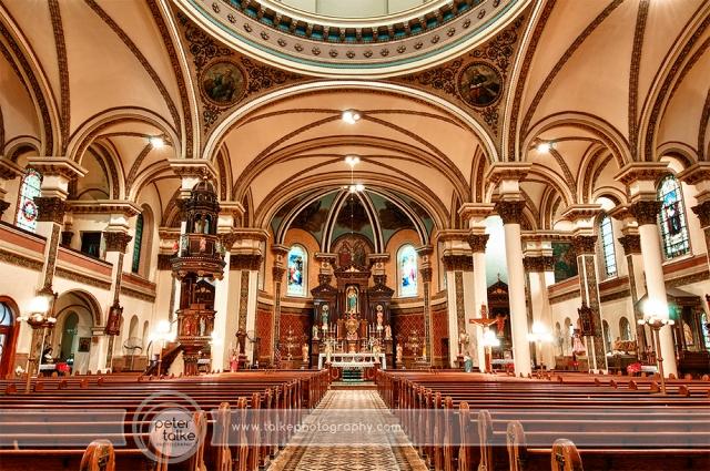 Pitt Immac Church HDR SW