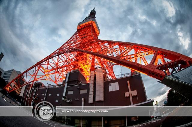 Tokyo Tower Fisheye HDR