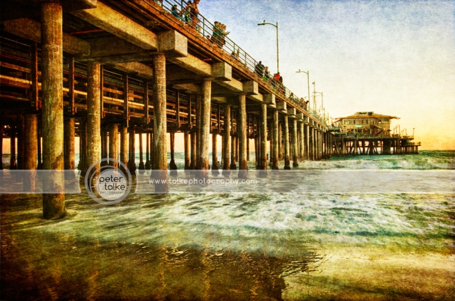 Santa Monica Pier HDR_talke